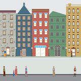 Buildings In The City. Stock Image