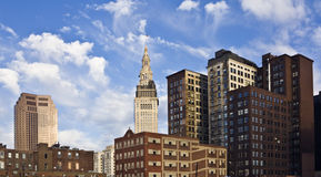 Buildings in Cleveland Royalty Free Stock Photo