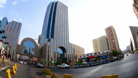 Buildings at Commercial center of Jeddah at morning Stock Image