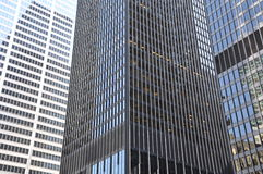 Buildings. Concrete commercial buildings in the city Royalty Free Stock Photography