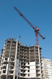 Buildings construction Stock Photography