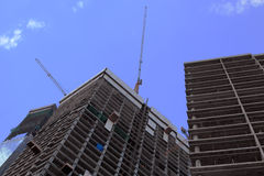 Buildings construction Royalty Free Stock Images