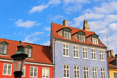 Buildings in Copenhagen Royalty Free Stock Photography