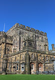 Buildings in courtyard inside Lancaster Castle Royalty Free Stock Images
