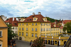 Buildings in Czech Republic Stock Photography