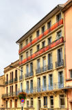 Buildings in Dax town - France Royalty Free Stock Photography