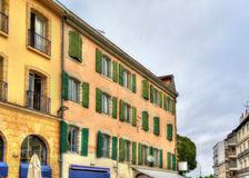 Buildings in Dax town - France Royalty Free Stock Images