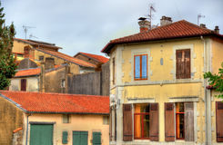 Buildings in Dax town - France Royalty Free Stock Image