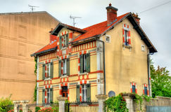 Buildings in Dax town - France Royalty Free Stock Photos