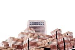 The buildings design in Taipei city, Taiwan. The landmark of Taiwan Stock Photos