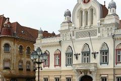 Buildings detail Union squere Timisoara Romania Stock Image