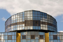 Buildings dome  of the steel color Stock Photography