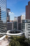 Buildings in downtown Houston, Texas Royalty Free Stock Images