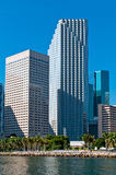 Buildings in Downtown Miami Royalty Free Stock Photo