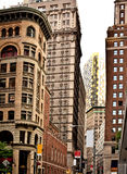 Buildings in Downtown New York Stock Photography