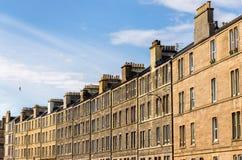 Buildings on Easter road in Edinburgh Royalty Free Stock Image