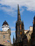 Buildings of Edinburgh. Royalty Free Stock Photos
