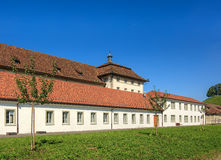 Buildings of the Einsiedeln Abbey in Switzerland Royalty Free Stock Image