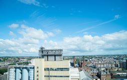Buildings, exhibits and views from Guinness Brewery Museum. Royalty Free Stock Photos