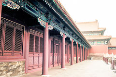 Buildings of Forbidden City Royalty Free Stock Photo