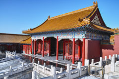 Buildings of Forbidden City Royalty Free Stock Photos