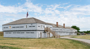 Buildings in Fort George in Ontario Canada Stock Image