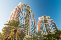 Buildings of Fort Lauderdale, Florida Royalty Free Stock Photo