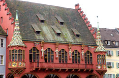 Buildings in Freiburg Stock Photos
