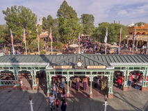 Buildings in Frontierland at Disneyland Park Royalty Free Stock Images