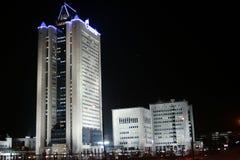 buildings gazprom στοκ εικόνες με δικαίωμα ελεύθερης χρήσης