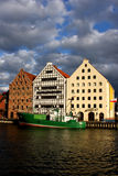 Buildings in Gdansk. Sea Museum in Gdansk, Poland Stock Photos