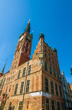 Buildings in Gdansk Royalty Free Stock Photos