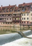 Buildings in the german town of nuremberg Royalty Free Stock Photography
