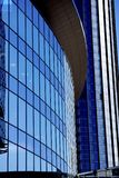 Buildings of glass and metal royalty free stock image