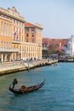 Buildings and Gondola Royalty Free Stock Photo