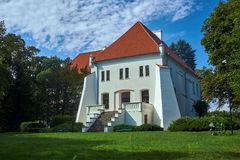 Buildings Gorka Palace in Szamotuly Royalty Free Stock Photo