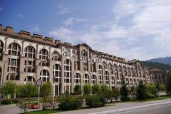 Buildings of Gorki City Apartments. Krasnaya Polyana, Sochi, Russia Stock Photography
