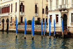 Buildings in the Grand Canal Stock Image
