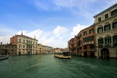 Buildings in the Grand Canal Stock Images