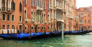 Buildings in the Grand Canal Royalty Free Stock Image