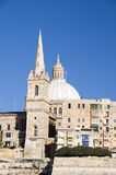 buildings grand harbor valletta malta Royalty Free Stock Image