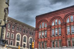Buildings in Grand Rapids. Michigan Royalty Free Stock Photography