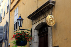 Buildings of Grasse, France Royalty Free Stock Photos