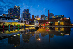Buildings at the Harbourfront Centre, in Toronto, Ontario. Royalty Free Stock Photo
