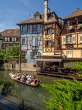 Buildings in the heart of medieval Colmar Royalty Free Stock Photography