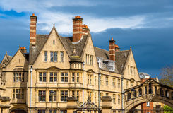 Buildings of Hertford College in Oxford Stock Photos