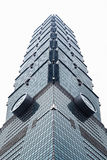 The buildings highest design in Taipei city, Taiwan. The landmark of Taiwan Stock Image
