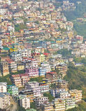 Buildings in Hills Royalty Free Stock Images