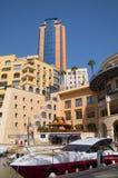 Buildings of Hilton Malta Hotel Stock Images