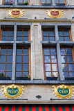 Buildings from historic center of Bruxelles, Belgium Royalty Free Stock Images